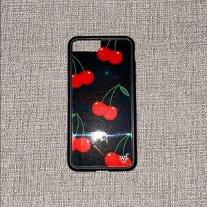 Black Cherry Wildflower Phone Case